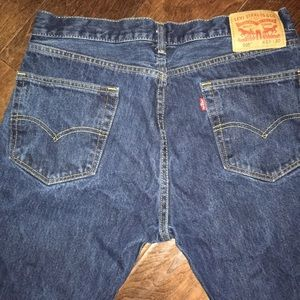 Size 33x30 505 Levi's boot cut